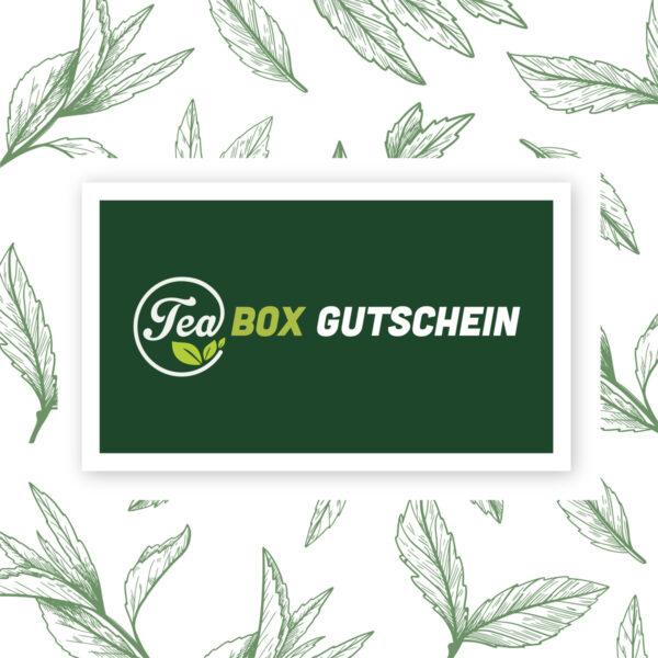 Tea-Box Geschenkgutschein