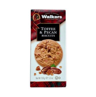Walkers Toffee & Pecan Biscuits